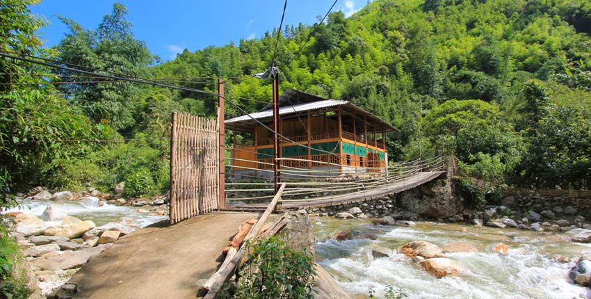 Nam Cang Riverside house