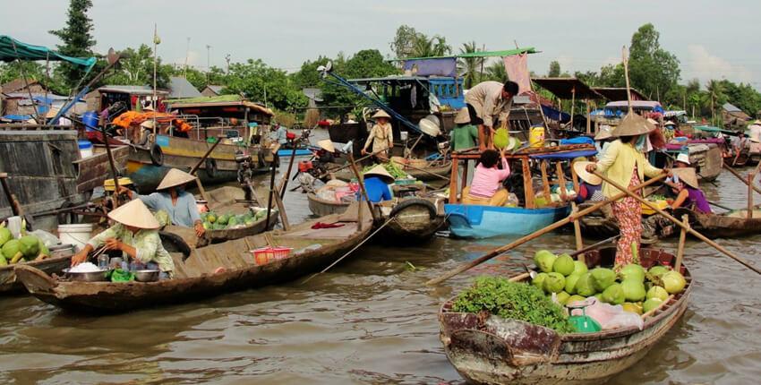 Cai Be Floating Market Tour