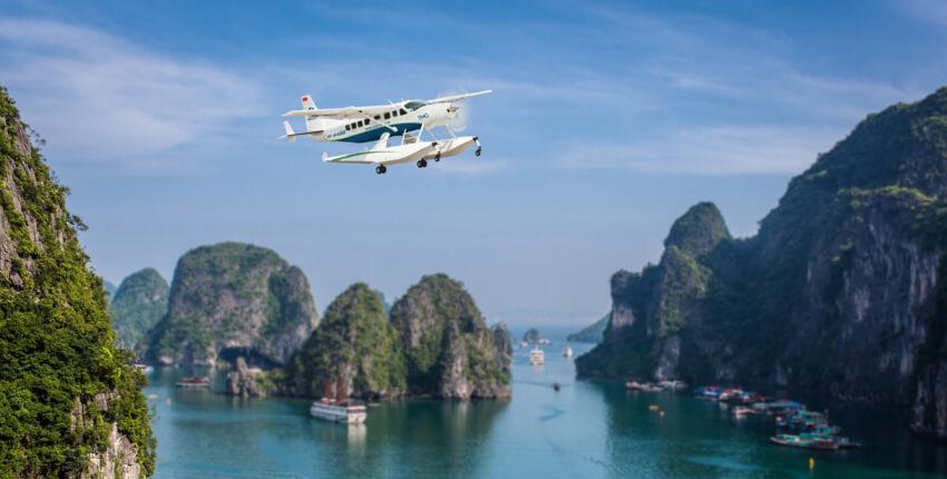 Seaplane Halong Bay - 2 Days / 1 Night