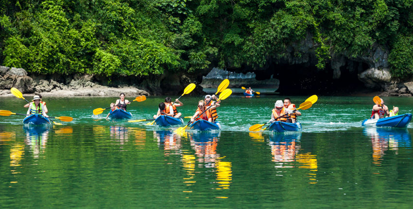 Vietnam Adventure Tour - 9 Days / 8 Nights - Kayaking, Hiking, Cycling