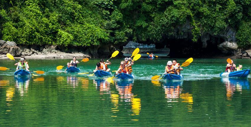 Vietnam Adventure Tour - 9 Days / 8 Nights - Kayaking, Hiking, Cycling