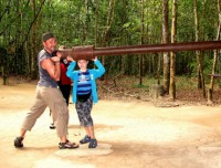 Cu Chi Tunnels Half Day Tour - By Speedboat