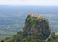 Day 4: Bagan – Mt Popa – Bagan (B)