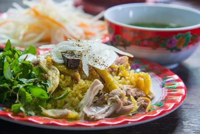 Dishes in Hoi An