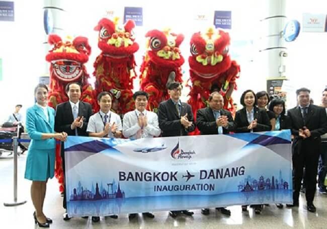 Direct flights from Danang to Bangkok 1