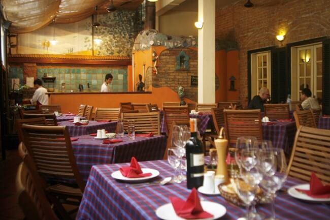 Italian restaurants in Hanoi 8