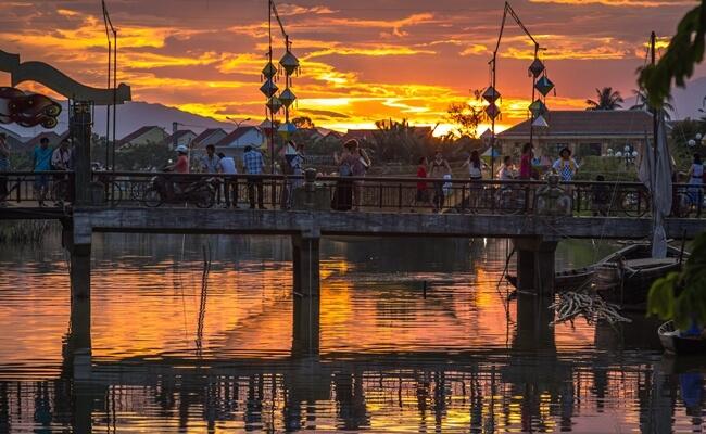 sunset in vietnam 2
