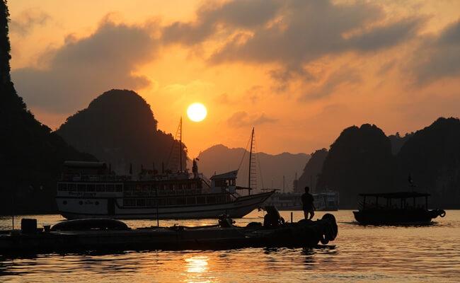 sunset in vietnam 5