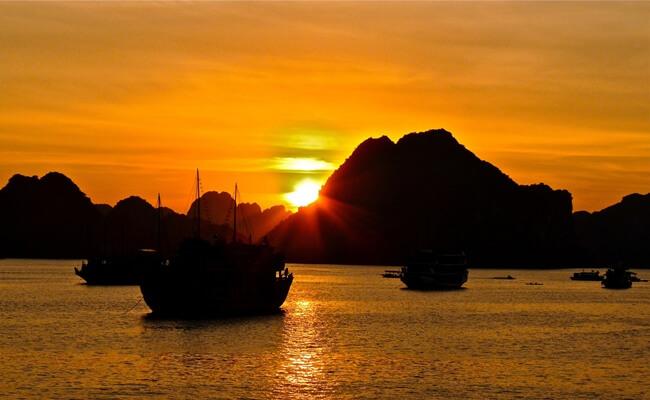 sunset in vietnam 8