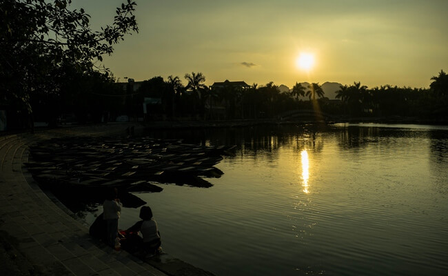 sunset in vietnam 7