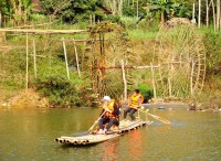 Day 1: Hanoi – Pu Luong walking and rafting (L/D)