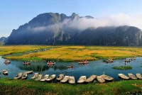 Van Long Natural Reserve – The Masterpiece of Wild Nature