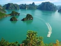 Day 3: Day trip to enjoy cruising on Halong Bay (B,L)