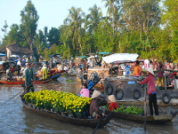 Day 13: Bobbing along the Mekong Delta River (B,L,D)
