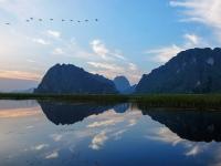 Day 3: Hanoi - Van Long Nature Reserve - Ninh Binh (B,L)