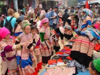 Day 4: (Tuesday) Sapa - Coc Ly market – Chay River (B/L)