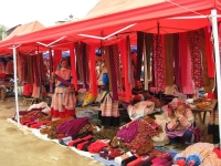 Day 3: Lao Cai - Bac Ha Market - Sapa (B,L)
